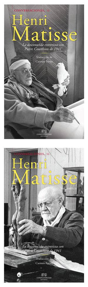 Conversaciones con Henri Matisse