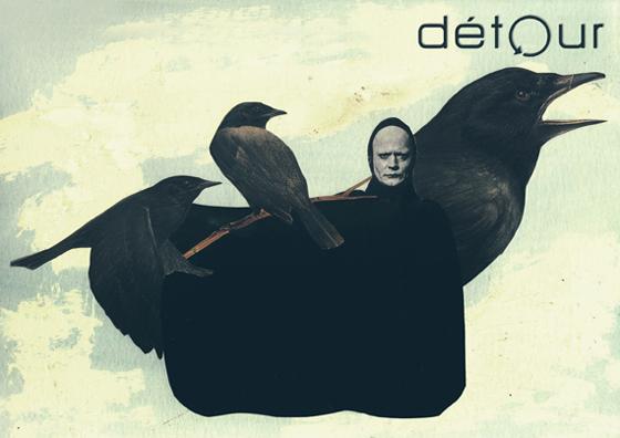 Collage dossier Détour | Francisca Pageo