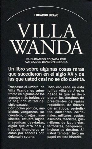 Eduardo Bravo | Villa Wanda