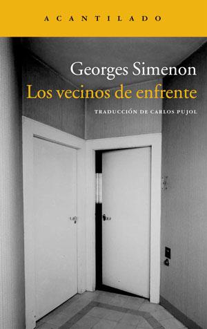 Georges Simenon | Los vecinos de enfrente