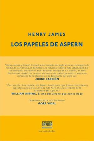 Henry James | Los papeles de Aspern