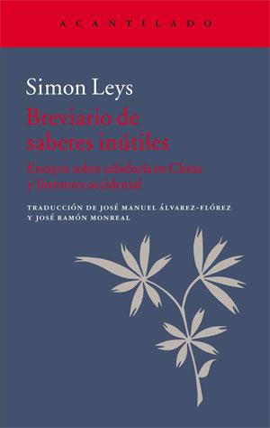 Simon Leys | Breviario de saberes inútiles