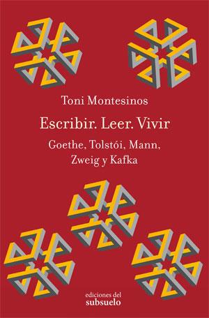 Toni Montesinos | Escribir. Leer. Vivir
