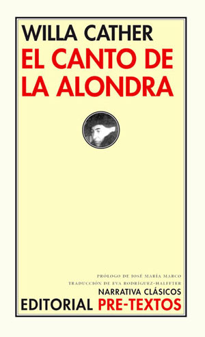 Willa Cather | El canto de la alondra