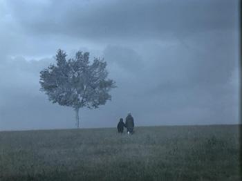 Theo Angelopoulos | Paisaje en la niebla