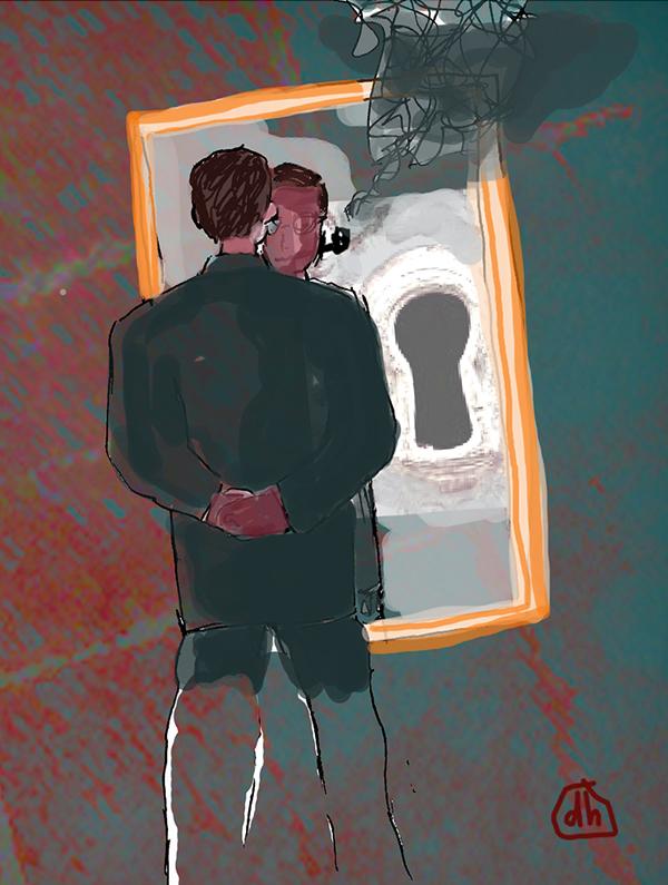 Détour | Pa(i)sajes | La nada, el vacío, la muerte | Jean Paul Sartre. Una problemática del ser. Del vacío de existir a la supervivencia del yo | Keiko McCartney